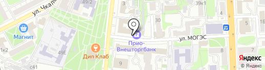 Платежный терминал, Прио-Внешторгбанк, ПАО на карте Рязани