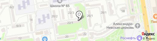 СВЕТА ЛУЧ на карте Ростова-на-Дону