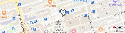 Евросеть на карте Ростова-на-Дону
