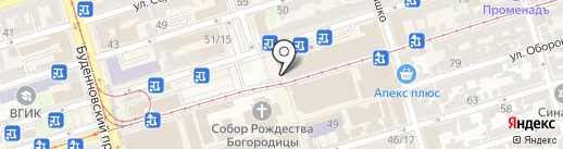 Мегафон на карте Ростова-на-Дону