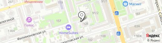 Содружество на карте Ростова-на-Дону
