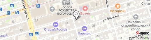 Крафт на карте Ростова-на-Дону