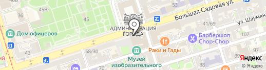 Банкомат, Бинбанк, ПАО на карте Ростова-на-Дону