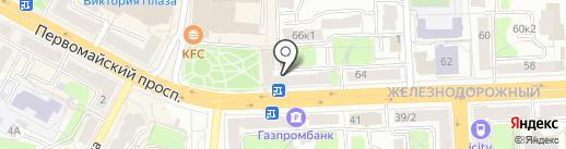 Победа 66, ТСЖ на карте Рязани