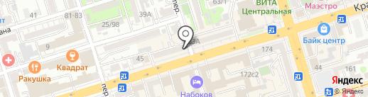 Деревенский мясной двор на карте Ростова-на-Дону