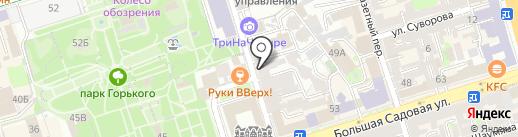 Мясокомбинат Каневской на карте Ростова-на-Дону