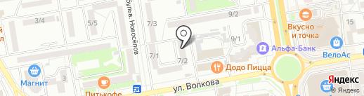 Verber Kids на карте Ростова-на-Дону