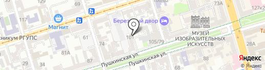 Профессионал на карте Ростова-на-Дону