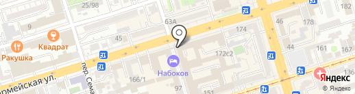 Идеал на карте Ростова-на-Дону