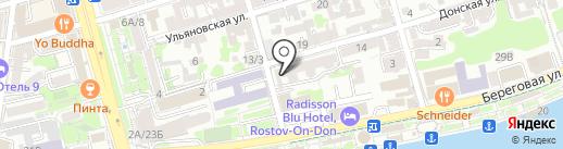 ВИДПРОФСЕРВИС на карте Ростова-на-Дону