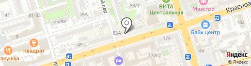 ОкнаЦены на карте Ростова-на-Дону
