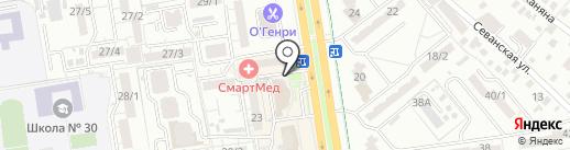 Интерпрайс на карте Ростова-на-Дону