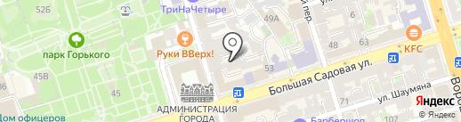 Петер Бона на карте Ростова-на-Дону