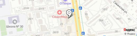 Модные детки на карте Ростова-на-Дону