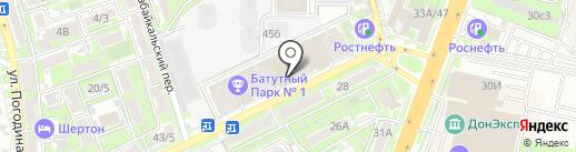 Gidlink.ru на карте Ростова-на-Дону