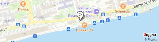 Киоск по продаже безалкогольных коктейлей на карте Ростова-на-Дону