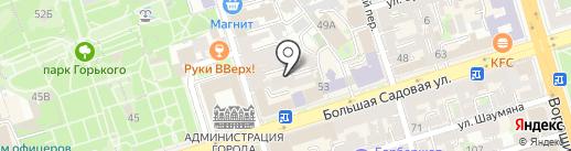 Central Park на карте Ростова-на-Дону