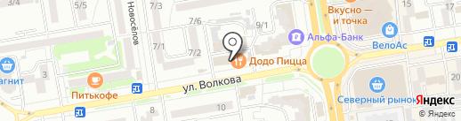 Barber Kids на карте Ростова-на-Дону