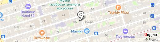 Роскошь на карте Ростова-на-Дону