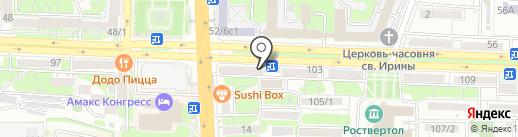 DNS на карте Ростова-на-Дону
