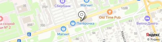 Ха-табач на карте Ростова-на-Дону