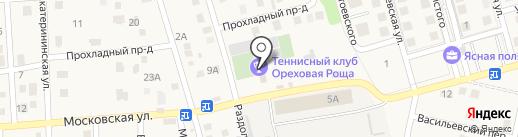 Ореховая Роща на карте Темерницкого