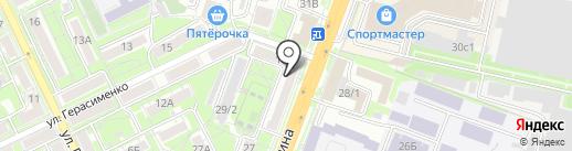 Многопрофильная компания на карте Ростова-на-Дону