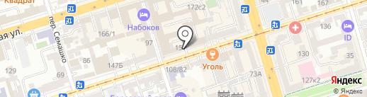 ДонКапиталСтрой на карте Ростова-на-Дону