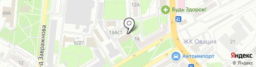 Праздничное агентство на карте Рязани