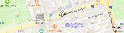 Sinta Gamma на карте Ростова-на-Дону