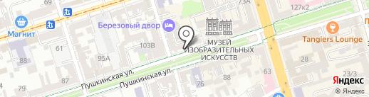 Atipico на карте Ростова-на-Дону