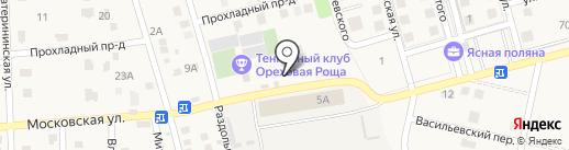 Хмельной погребок на карте Темерницкого