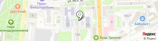 Автокомплекс на карте Рязани