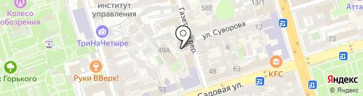 ДММ на карте Ростова-на-Дону
