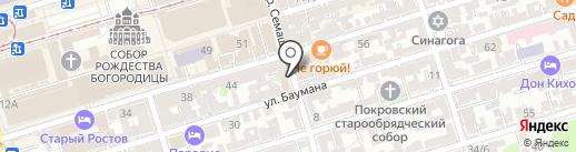 Магазин по продаже семян на карте Ростова-на-Дону