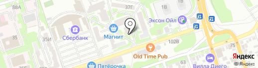 Ваша Аптека на карте Ростова-на-Дону