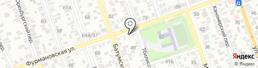 ОС СЕРВИС на карте Ростова-на-Дону