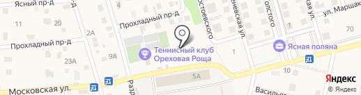 Центр внутреннего тюнинга на карте Темерницкого