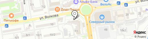 Здоровье на карте Ростова-на-Дону