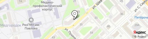 FIX62 на карте Рязани