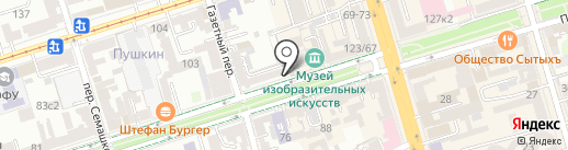 Франт на карте Ростова-на-Дону