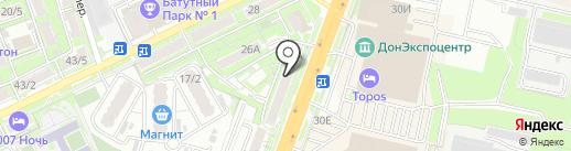 ПиАР на карте Ростова-на-Дону