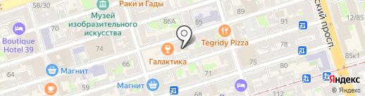 Сопрано на карте Ростова-на-Дону