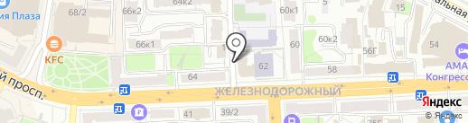 Nice Hostel на карте Рязани
