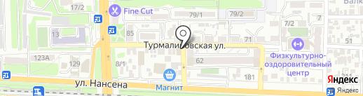 Lyazzat на карте Ростова-на-Дону