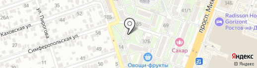 Animal Gym на карте Ростова-на-Дону