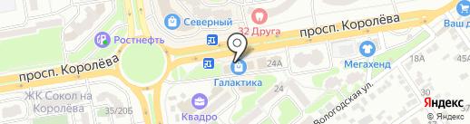 ТЕРРА-СТРОЙ-ЮГ на карте Ростова-на-Дону
