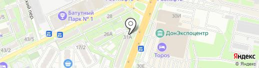 Lanors на карте Ростова-на-Дону