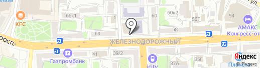 Транскапиталбанк, ПАО на карте Рязани