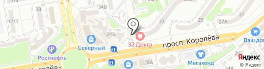 ЮГ-ЛОМБАРД на карте Ростова-на-Дону